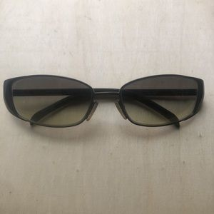 Vintage Authentic Gucci Green Sunglasses
